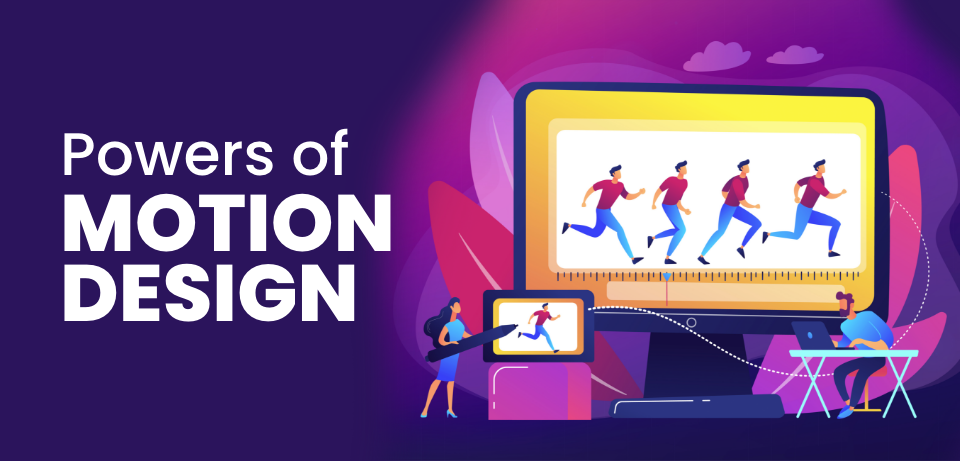 How motion design can help retain a users attention and why it should be more widely used.