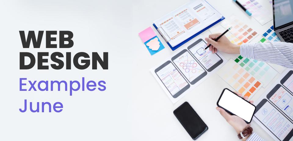 Web Design examples June