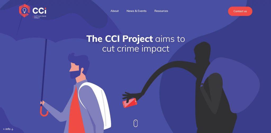 CCI brochure website design example