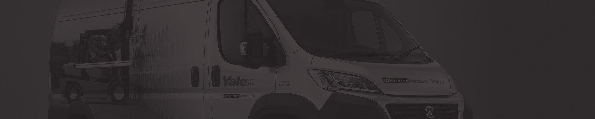 Hyster Yale Vehicle Artwork design