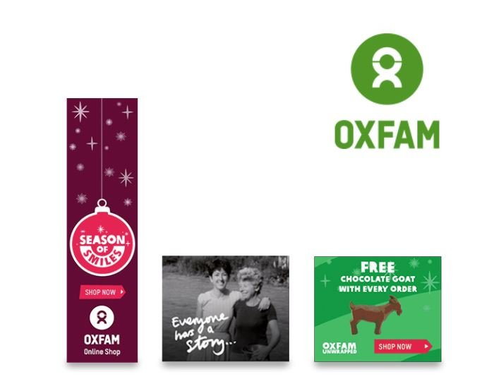 Oxfam Animated Banner Campaigns