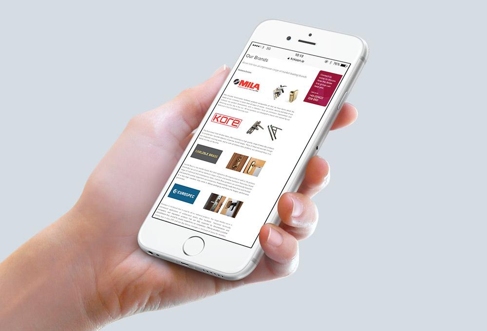 Arran Isle Mobile Website design