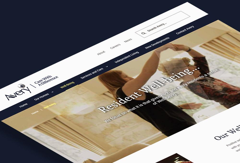 High performing website
