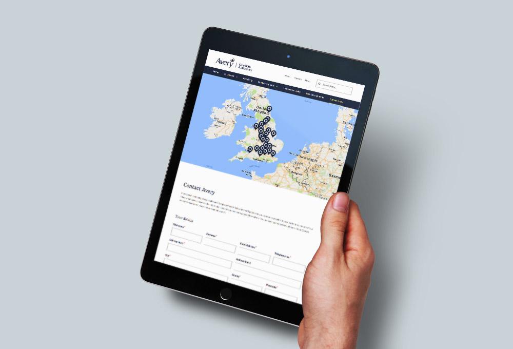 website enquiry form