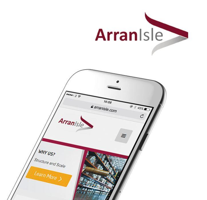 Arran Isle Website Development