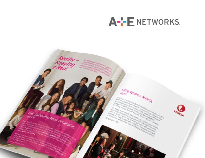 A + E network brochure