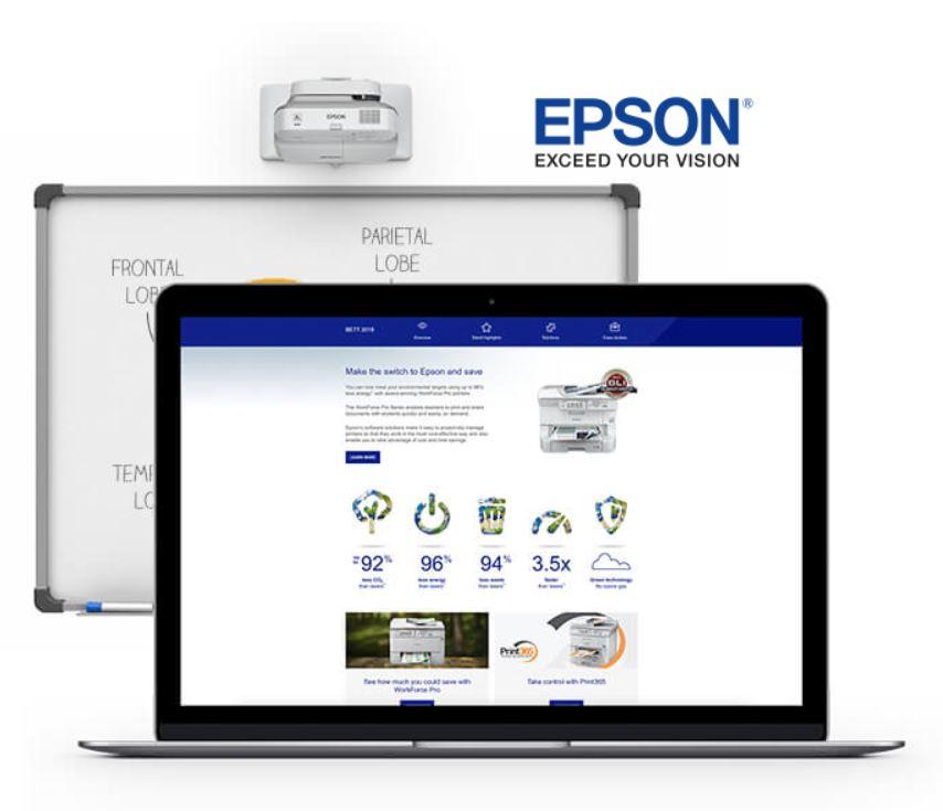 Epson UK BETT 2018 Event