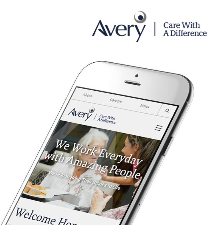 Avery Healthcare Website Development