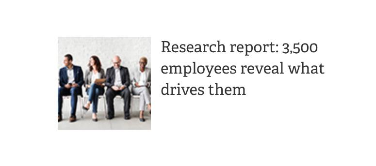 SagePeople Article employee drive