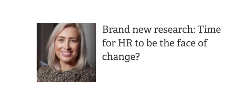 SagePeople Article HR