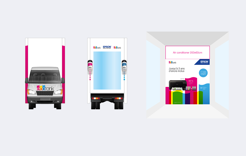 Print Designs for EcoTank Billboards