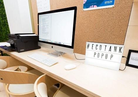 Ecotank Store Apple Popup Campaign