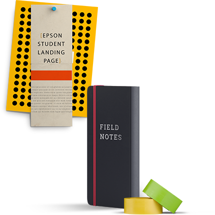 Creative Epson Prnt design products for students