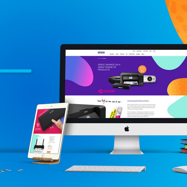Epson – Student Landing Page