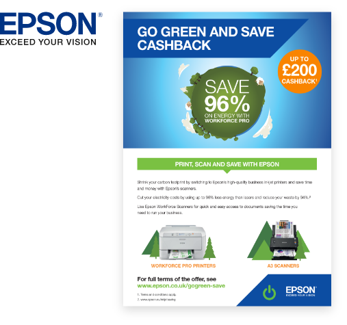 Epson UK Go Green Marketing Campaign
