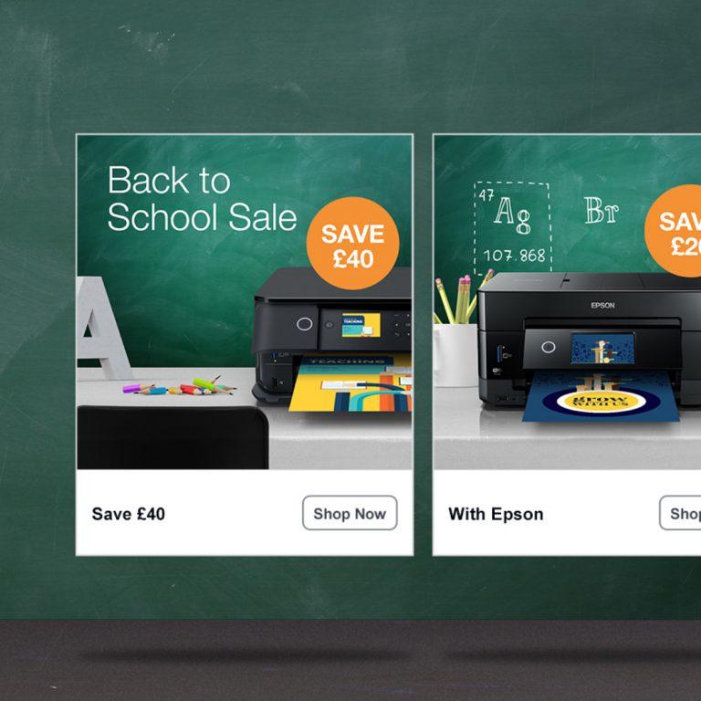Epson – Facebook Ad Campaign
