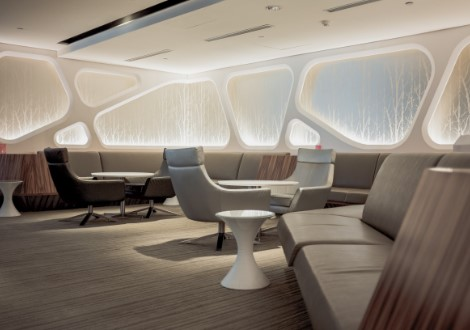 Luxurious Passenger Lounge