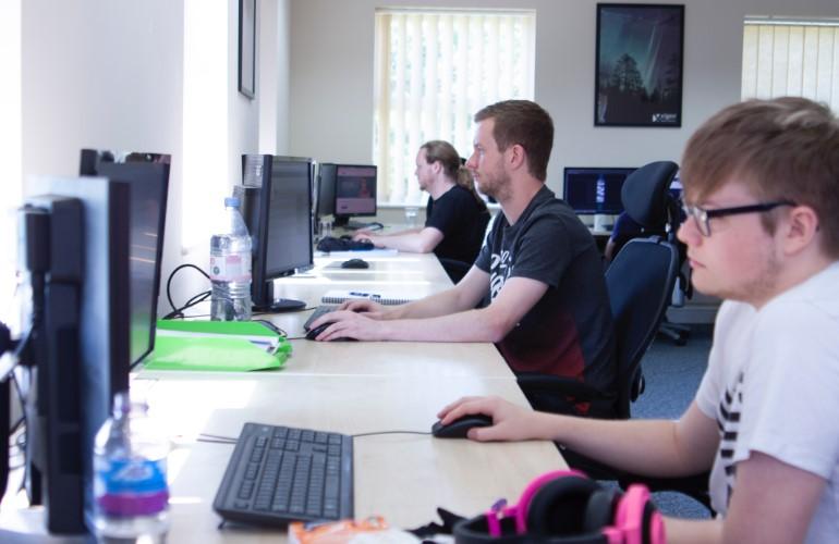 Xigen developers working