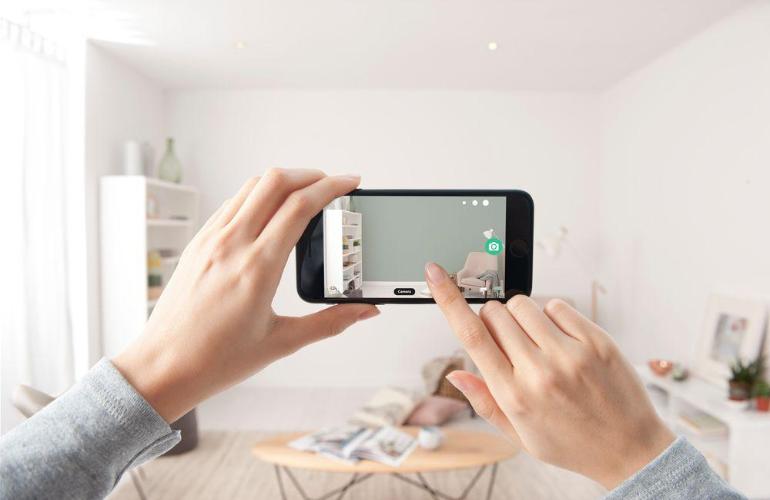 Dulux Visualiser AR app