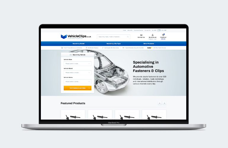 Magento 2 website