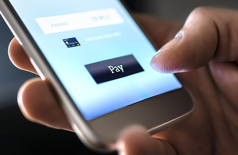Paying with mobile