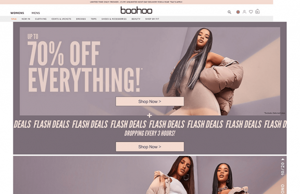 Boohoo fashion
