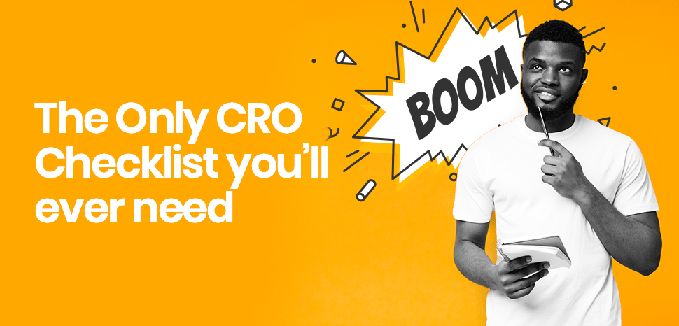 The ultimate conversion rate optimisation checklist