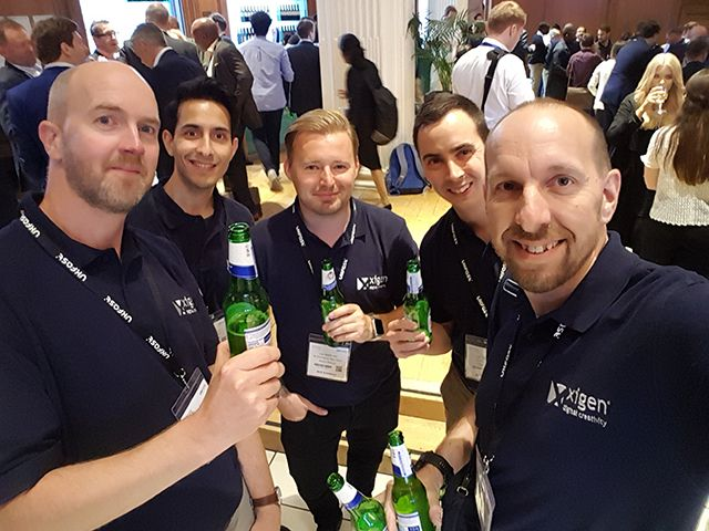 Xigen Team at Ecommerce Expo 2017